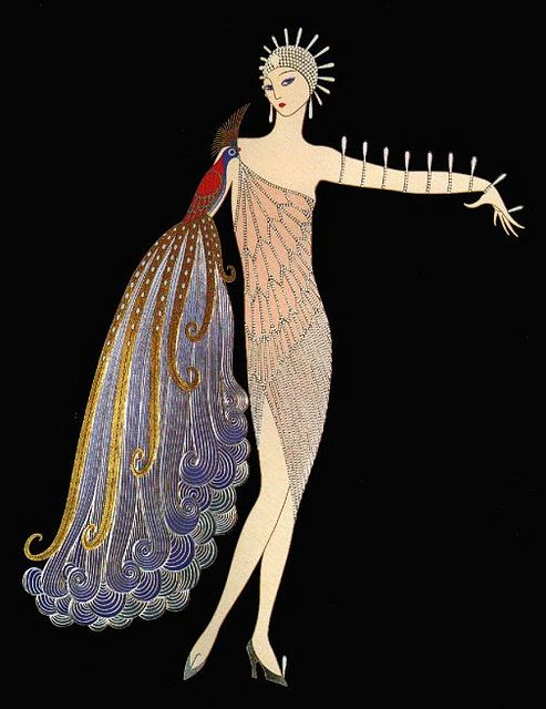 Russian-born French artist and designer known by the pseudonym Erté.