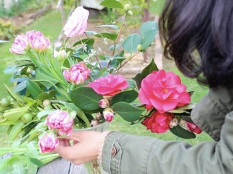 five minute Flower challenge fabulous foraging