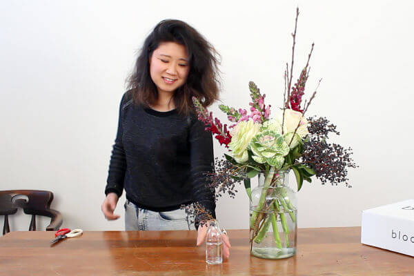 Step 6 - Use leftovers to create a mini vase
