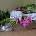 Peonies and Hydrangeas Bloombox Co