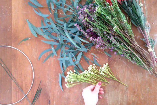 step 1 cut into small stems