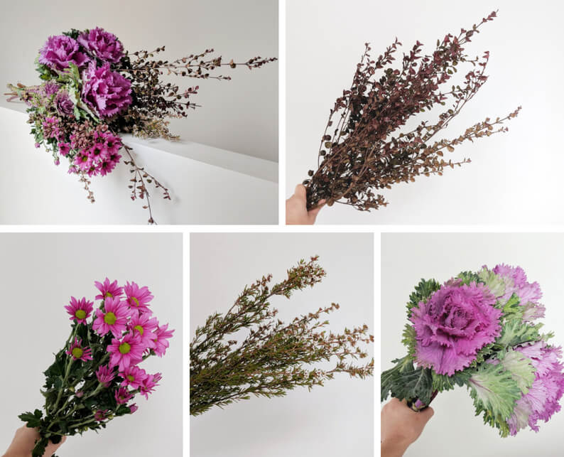 Frilly Ornamental Kale Arrangement - What you'll need