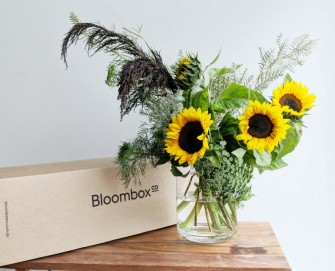 Rustic Sunflower and Grevillea flower arrangement tutorial