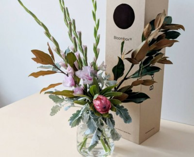 Gladioli and Protea Arrangement - Bloombox Co Flower Tutorial