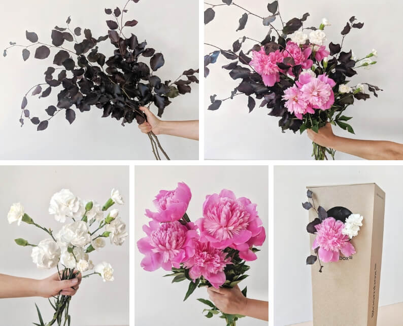 How To - Peony and Carnation Arrangement What You'll Need