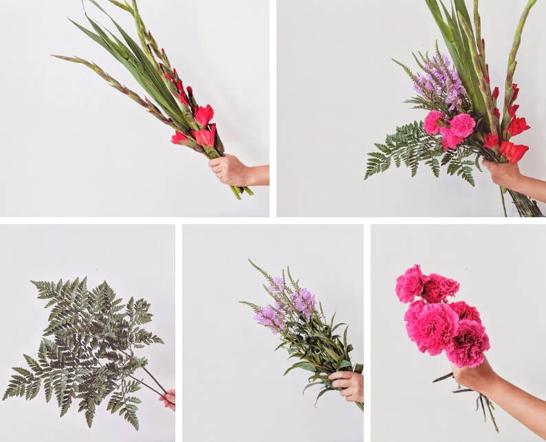 Chinese New Year Inspired Flower Arrangement Tutorial - What you'll need