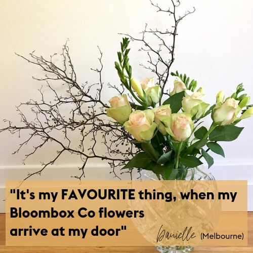 Flower Delivery Sydney and Melbourne Testimonial Bloombox Co
