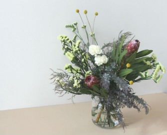 Easter Protea Arrangement Vase