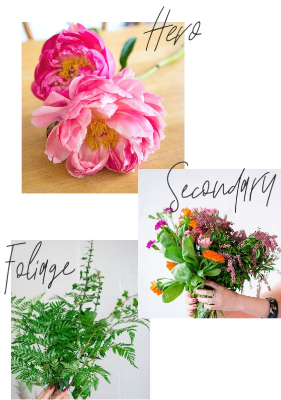 what you need to make the perfect bouquet