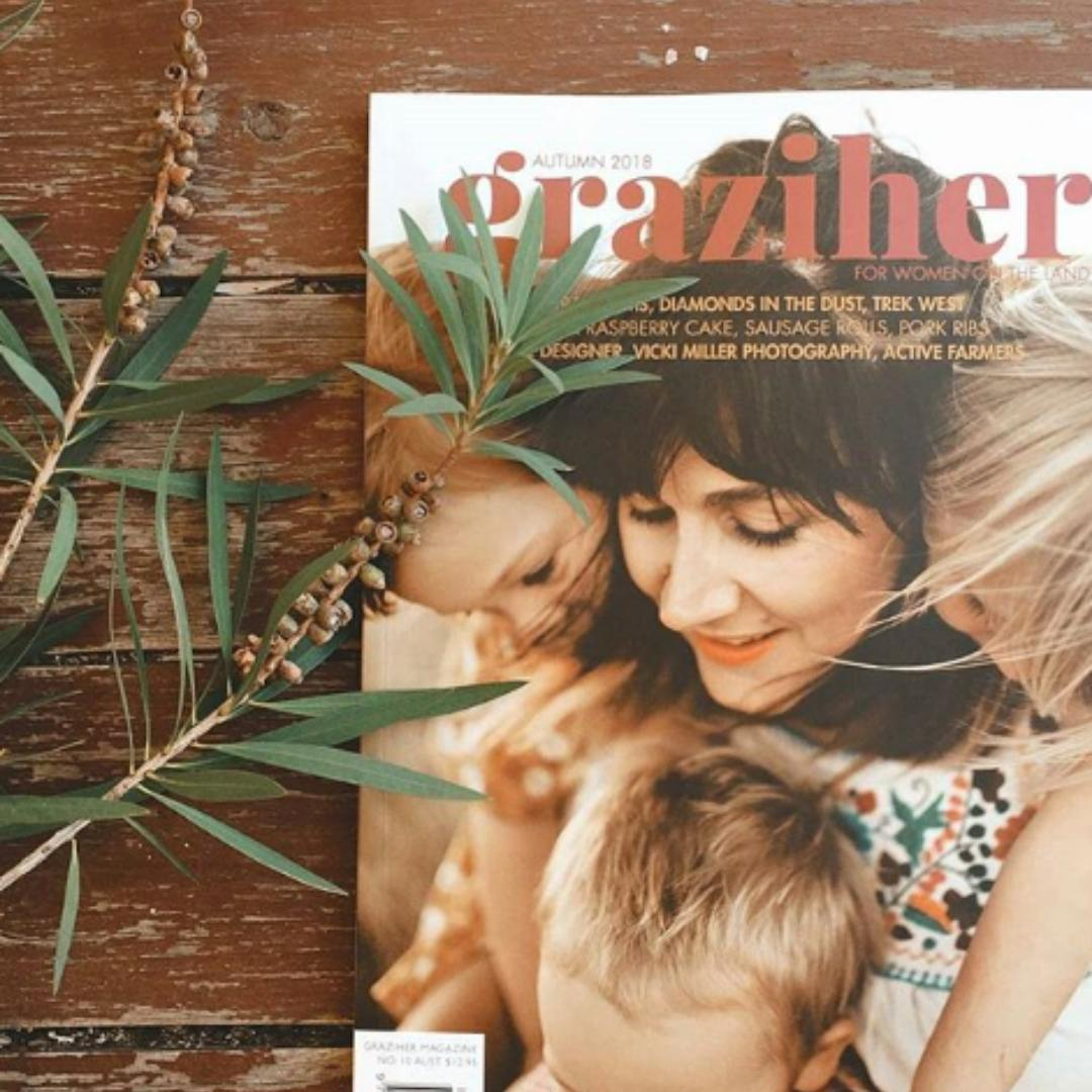 Graziher Magazine Gift Subscription delivered in Sydney Melbourne