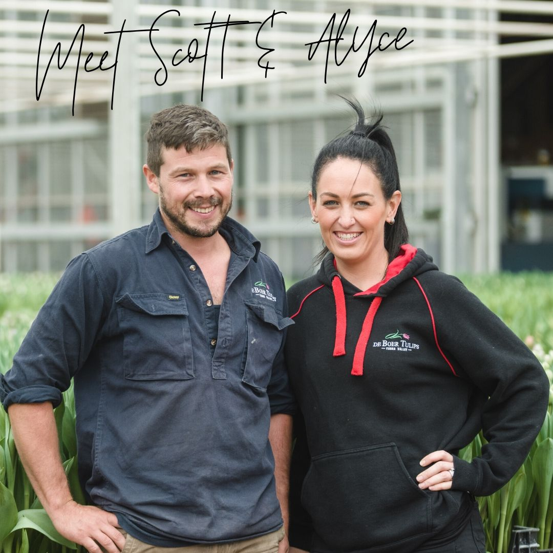 Scott and Alyce De Boer Tulip Growers