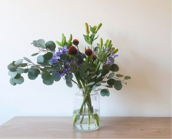 agapanthus arrangement